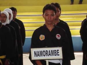 Muhammad Fadlin atlit Persinas Asad yang mewakili Kec. Namorambe