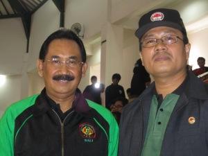 Ketua Umum IPSI Bali dan Ketua Persinas Asad Bali