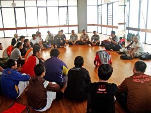 Penataran Wasit-Juri dan Pelatih IPSI Jakpus 2012