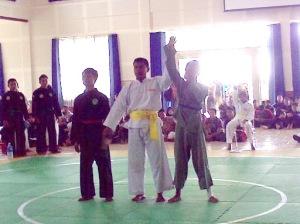 Persinas ASAD meraih posisi Juara III di Kejuaraan Pencak Silat antar Pelajar se-Malang Raya