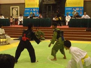Persinas ikuti Kejuaraan Pencak Silat Piala Walikota Surabaya 2012