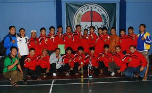 Maung Bandung Runner-Up Piala Walikota 2011
