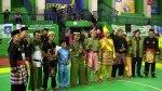 Para perwakilan dari masing-masing Provinsi dengan Pakaian Adatnya