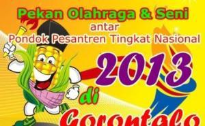 Logo Pospenas 2013 Gorontalo.
