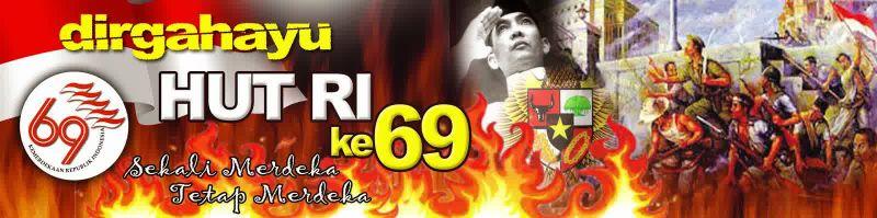 Logo HUT RI ke69